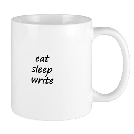 Eat * Sleep * Write - Vertica Mug