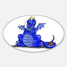 Dragon Drinking Tea Decal