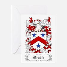 Brodie Greeting Card