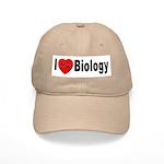 I Love Biology Cap