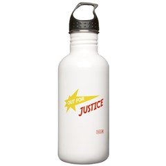 Out for Justice 2 Water Bottle