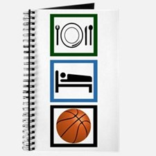 Eat Sleep Basketball Journal