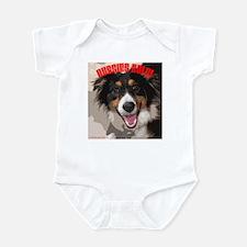 Aussies Rule! Infant Bodysuit
