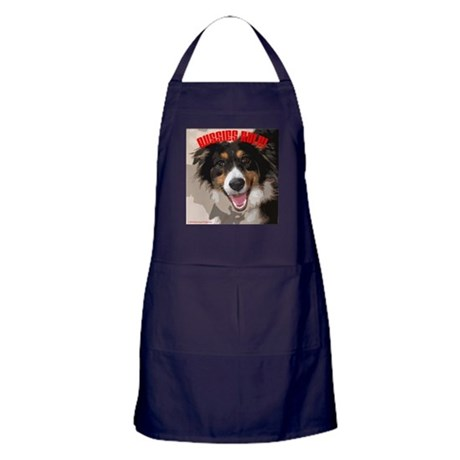 Aussies Rule! Apron (dark)