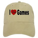 I Love Games Cap