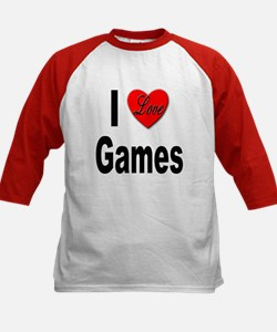I Love Games (Front) Tee