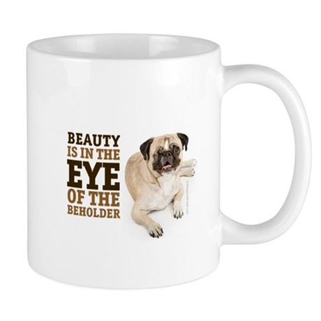 RD Pug Beauty Mug