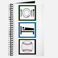 Eat Sleep Baseball Journal