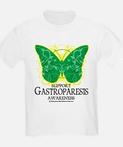 Gastroparesis Butterfly T-Shirt
