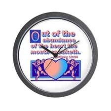 Out Of The Heart Wall Clock
