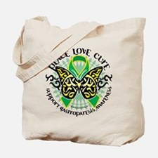 Gastroparesis Tribal Butterfl Tote Bag