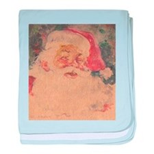 Vintage Santa Claus Infant Blanket