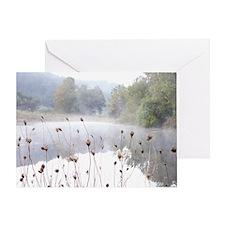 Misty Daybreak Greeting Card
