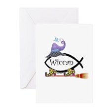 Dar/Witch Fish Greeting Cards (Pk of 20)