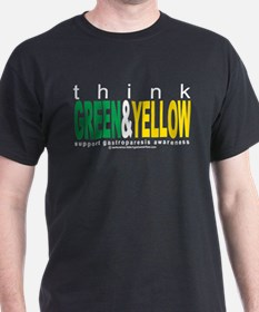 Think Green and Yellow T-Shirt