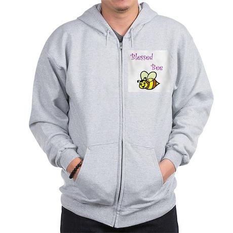 Blessed Bee Zip Hoodie