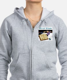 Witchy Woman too Zip Hoodie