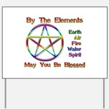 Elemental Blessing Yard Sign