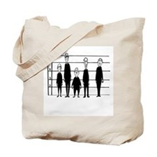Priest Lineup Tote Bag