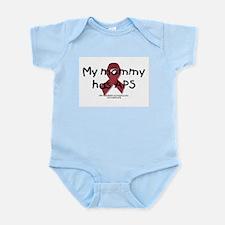 Cute Sticky blood Infant Bodysuit