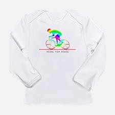 Cute Bicycle racing Long Sleeve Infant T-Shirt