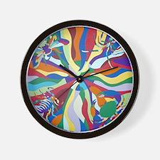 Circle Time Wall Clock