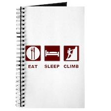 eat sleep climb Journal