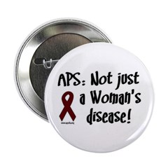 """APS - Not Just a Woman's Dise 2.25"""" Button (1"""