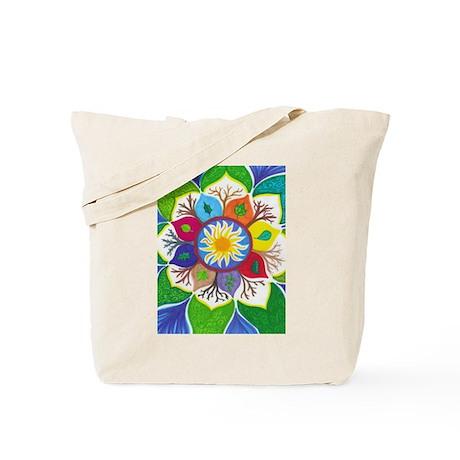 Tree Flower Tote Bag