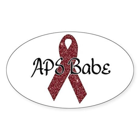 APS Babe Sticker (Oval 50 pk)