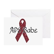 APS Babe Greeting Card