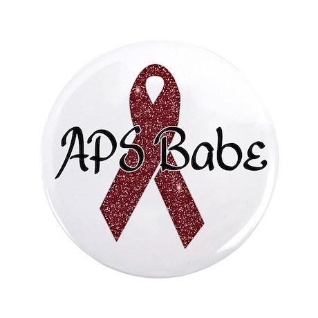 """APS Babe 3.5"""" Button"""