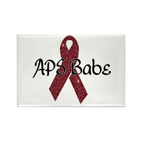 APS Babe Rectangle Magnet (100 pack)