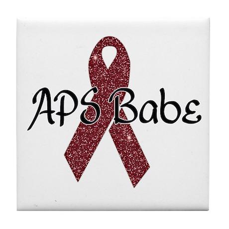 APS Babe Tile Coaster
