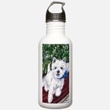 Westie Wonderland Water Bottle