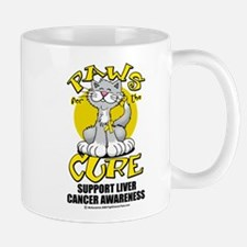 Paws For The Cure Liver Cance Mug