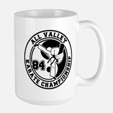 All Valley Karate Championshi Large Mug