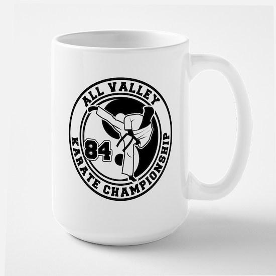 All Valley Karate Championshi Large Mug