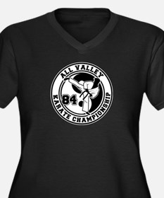 All Valley Karate Championshi Women's Plus Size V-