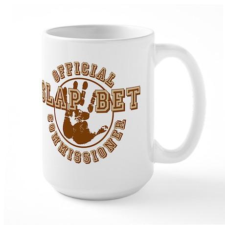 Slap Bet Commissioner Large Mug