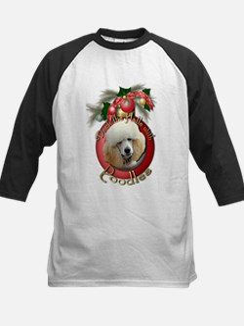 Christmas - Deck the Halls - Poodles Tee