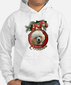 Christmas - Deck the Halls - Poodles Hoodie