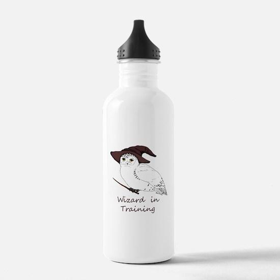 Wizard owl Water Bottle