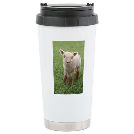 Sweet Lamb Stainless Steel Travel Mug