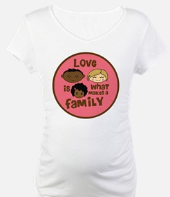 Girl African/Caucasian 2 Love Shirt