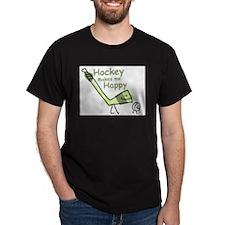 hockey_makes_me_happy2_no_gris_vectorized-1 T-Shir