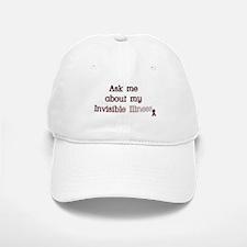 Invisible Illness - APS Baseball Baseball Cap