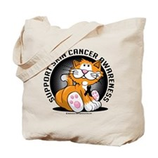 Skin Cancer Cat Tote Bag