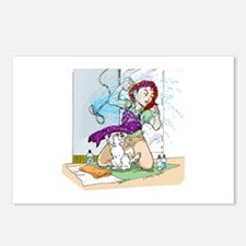 Getting Wet Postcards (Package of 8)
