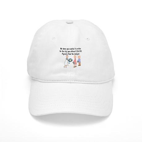 Retired Nurse Story Art Cap